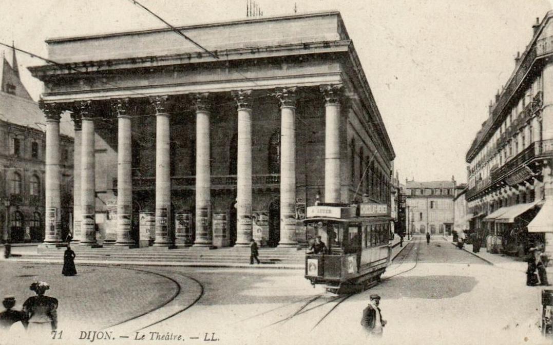 Dijon (Côte d'Or) Le Théâtre CPA