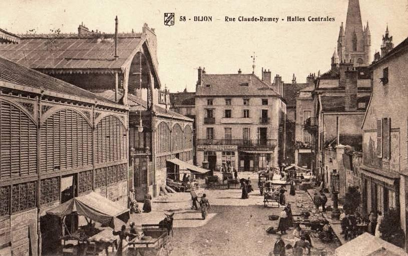 Dijon (Côte d'Or) Les Halles Centrales