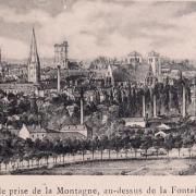 Dijon (Côte d'Or) Vue générale en 1907 CPA