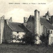 Donzy (Nièvre) L'Abbaye de l'Epeau CPA