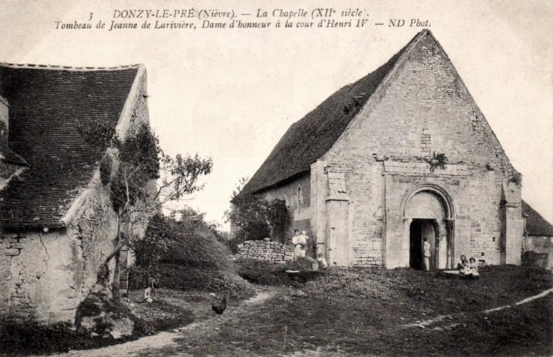 Donzy (Nièvre) La chapelle Saint-Martin-du-Pré CPA