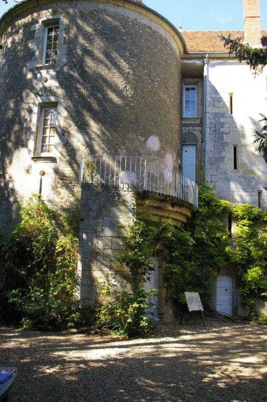Donzy (Nièvre) Le château