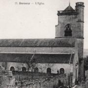 Dornecy (Nièvre) L'église Saint Martin CPA