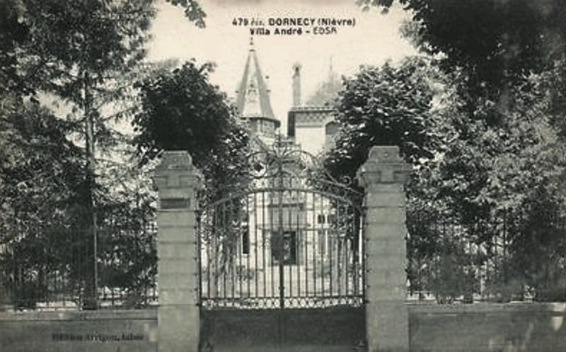 Dornecy (Nièvre) La villa André CPA