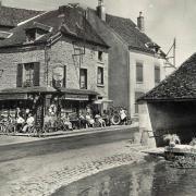 Dornecy (Nièvre) Le café-bar CPA