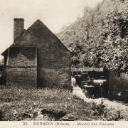Dornecy (Nièvre) Le moulin CPA