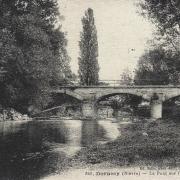 Dornecy (Nièvre) Le pont CPA