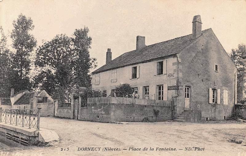 Dornecy (Nièvre) Le Tabac CPA