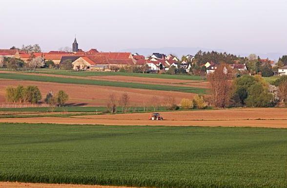 Dossenheim kochersberg 67 vue generale