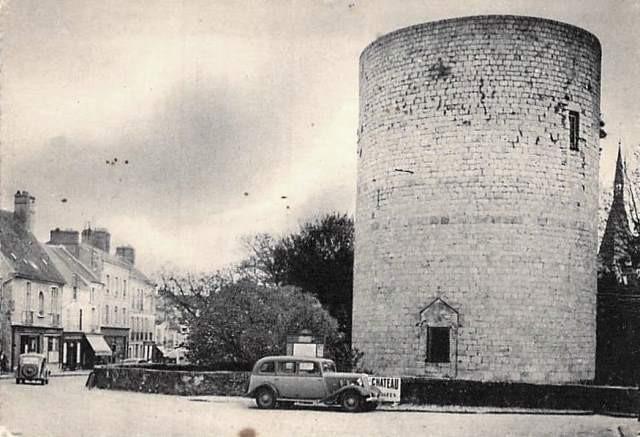 Dourdan essonne le chateau la grosse tour cpa