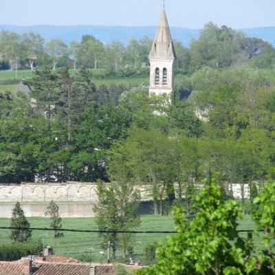 Dourgne (Tarn) Abbaye Saint Scholastique d'En-Calcat en 2011