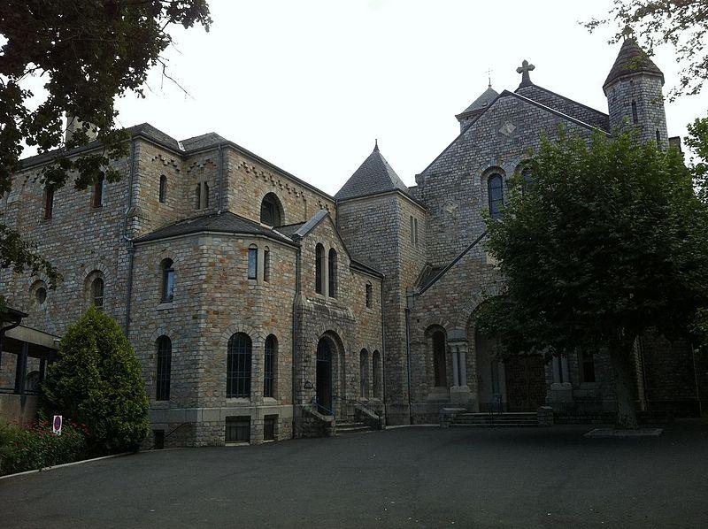 Dourgne (Tarn) Abbaye Saint Benoit d'En-Calcat