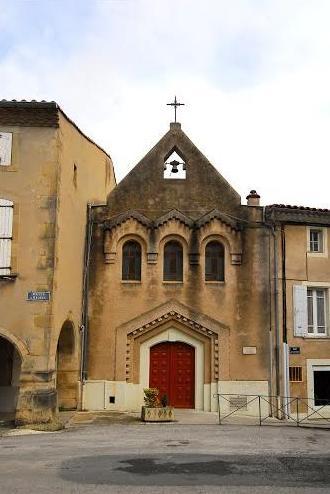 Dourgne (Tarn) chapelle de l'ancien hospice