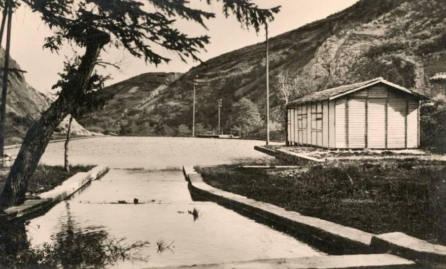 Dourgne (Tarn) CPA les piscines