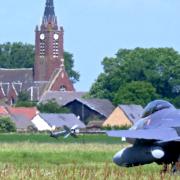 Epinoy pas de calais vue du camp d aviation