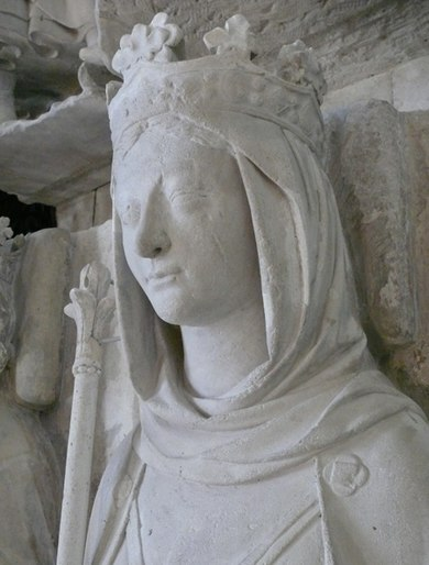 Gisant d'Ermentrude d'Orléans