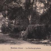 Essises (Aisne) CPA la roche qui pleure