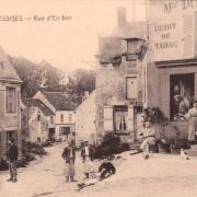 Essises (Aisne) CPA rue d'en-bas
