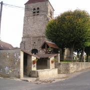Essises (Aisne) Eglise Saint André en 2004