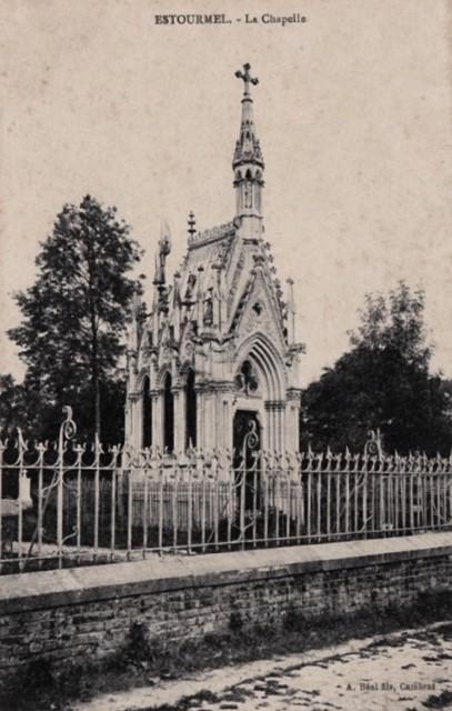 Estourmel 59 la chapelle bricout cpa