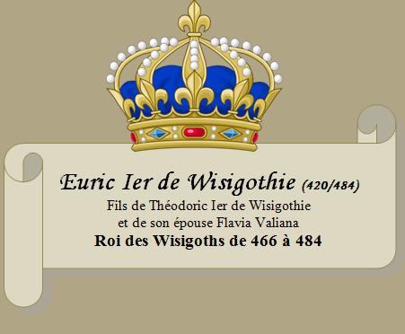 Euric Ier des Wisigoths