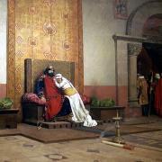 Excommunication de Robert II, musée d'Orsay 1875