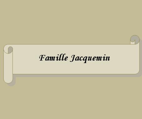 Famille Jacquemin