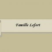 Famille Lefort