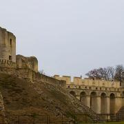 Fère-en-Tardenois (Aisne) le château, pont galerie
