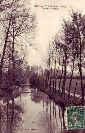 Fère-en-Tardenois (Aisne) CPA l'Ourcq