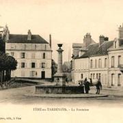 Fère-en-Tardenois (Aisne) CPA la fontaine