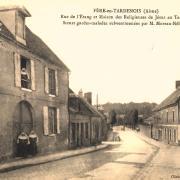 Fère-en-Tardenois (Aisne) CPA la rue de l'étang
