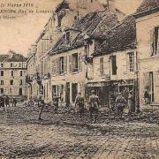 Fère-en-Tardenois (Aisne) CPA la rue de Loupeigne 14-18