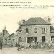 Fère-en-Tardenois (Aisne) CPA la rue Jules Lefebvre 14-18