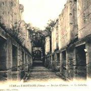 Fère-en-Tardenois (Aisne) CPA le château, sur la galerie