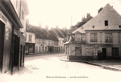 Fère-en-Tardenois (Aisne) CPA les 4 vents