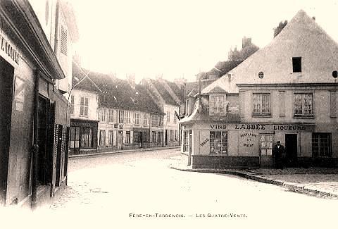 Fère-en-Tardenois (Aisne) le village
