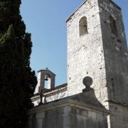 Ferrières-les-Verreries (Hérault) L'église Saint Jean Baptiste