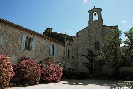 Ferrières-les-Verreries (Hérault) Le presbytère