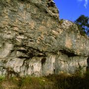 Fleurey-sur-Ouche (Côte d'Or) Abri sous roches d'Orgère