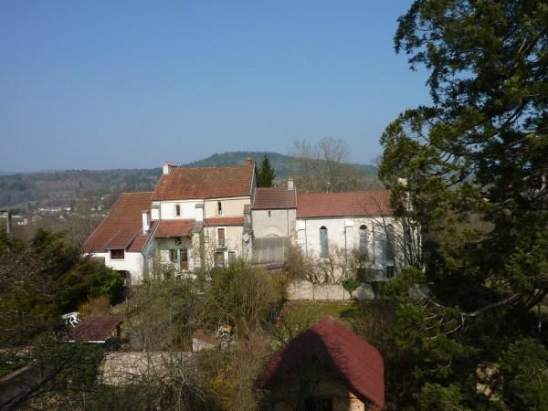 Fleurey-sur-Ouche (Côte d'Or) L'église du prieuré aujourd'hui