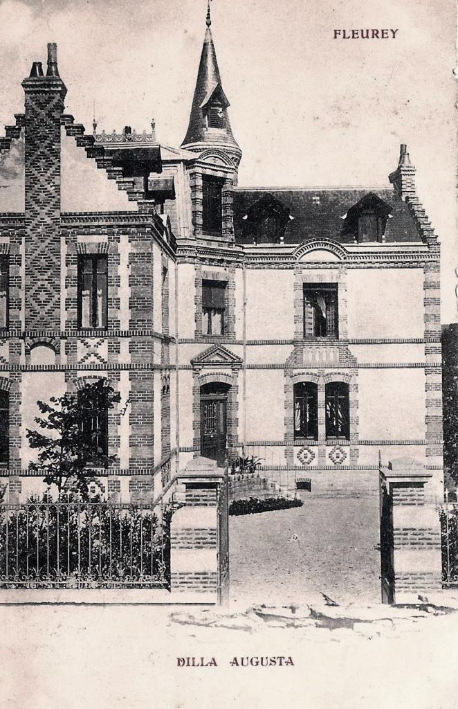 Fleurey-sur-Ouche (Côte d'Or) La villa Augusta CPA