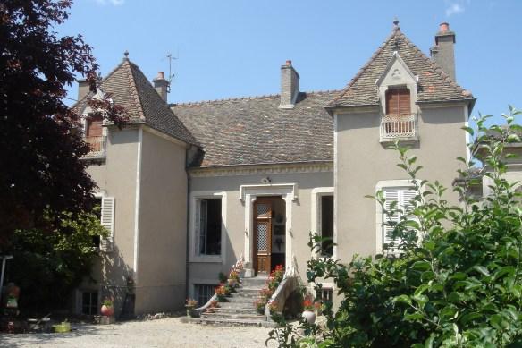 Fleurey-sur-Ouche (Côte d'Or) La villa Sainte Chantal