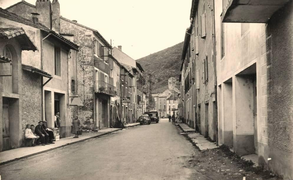 Fondamente (Aveyron) CPA avenue de Cornus