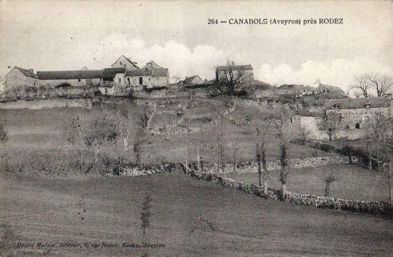 Fondamente (Aveyron) CPA Canabols