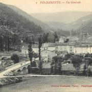 Fondamente (Aveyron) CPA Vue générale