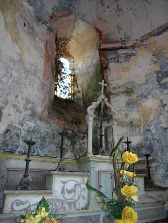 Fondamente (Aveyron) Saint-Rome-de-Berlières, la chapelle