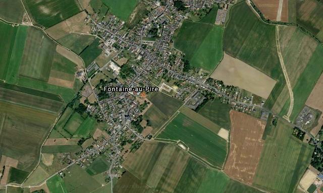Fontaine au pire 59 vue satellite