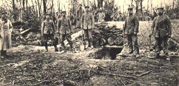 Fontaine-en-Dormois (51) 1914-1918 CPA