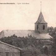 Fontaine-en-Dormois (51) L'église Saint-Rémi CPA